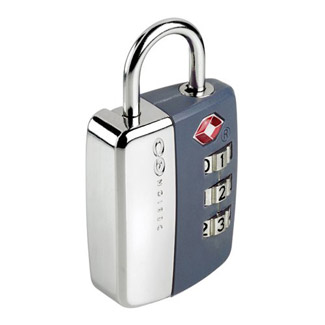 Go Travel Travel Sentry Lock - Grey