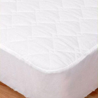 Elainer 100% Cotton Quilted Mattress Protector - Single 92 x 191 x 33cm