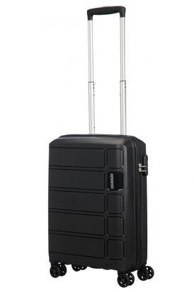 American Tourister Summer Splash Spinner 55cm Cabin Case Black