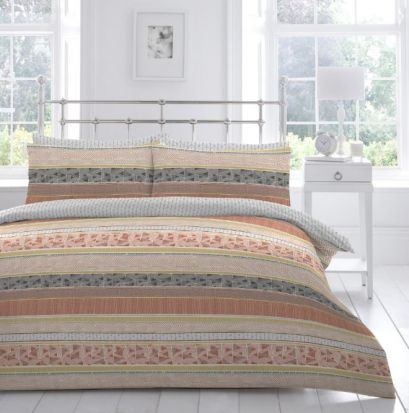 Appletree Desert Stripe Duvet Cover Set - King