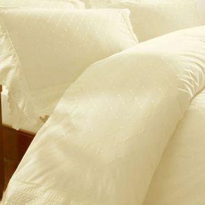 Broderie Balmoral Cream Duvet Cover Set Double