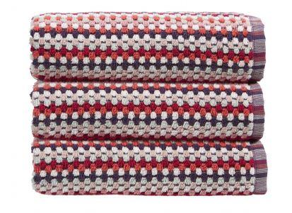 Christy Carnaby Stripe Bath Sheet - Berry