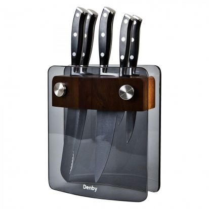 Denby 5 Piece Knife Block Set