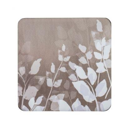 Denby Foliage Natural Set of 6 Coasters