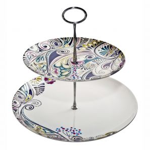 Denby Monsoon Cosmic Cake Stand