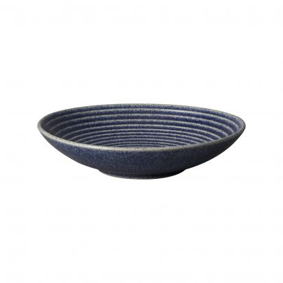 Denby Studio Blue Cobalt Medium Ridge Bowl