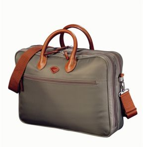 Jump Nice Two Compartment Laptop Briefcase Bark
