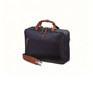 Jump Nice Two Compartment Laptop Briefcase Navy