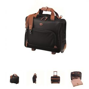 Jump Nice Wheeled Laptop Briefcase Navy