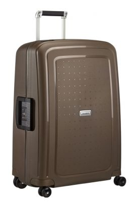 Samsonite SCure DLX 55cm Cabin Case - Metallic Bronze