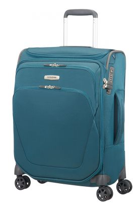 Samsonite Spark SNG Spinner Toppocket 55cm Cabin Case - Petrol Blue