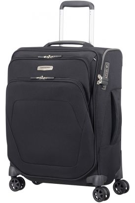 Samsonite Spark SNG Spinner with 4 wheels - 55cm Black