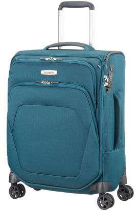 Samsonite Spark SNG Spinner with 4 wheels - 55cm Petrol Blue