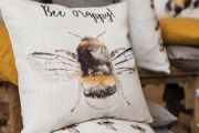Bee Happy Cushion - 43cm x 43cm 2