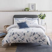 Cath Kidston British Birds Blue Duvet Cover Set - Double