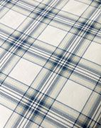 Christy Thurloe Check Duvet Cover Set Blue - Superking 3