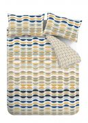 Content by Conran Eclipse Ochre Duvet Cover Set - Single 4