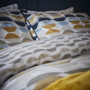 Content by Conran Eclipse Ochre Duvet Cover Set - Superking 3