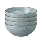 Denby Studio Grey Set of 4 Cereal Bowls